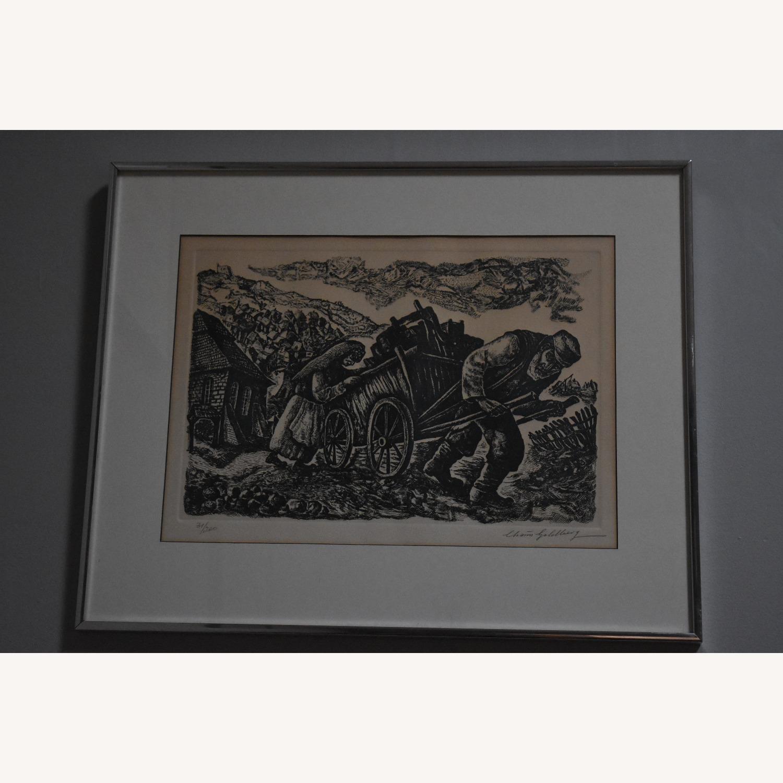 Chaim Goldberg - Signed Lithograph - image-1
