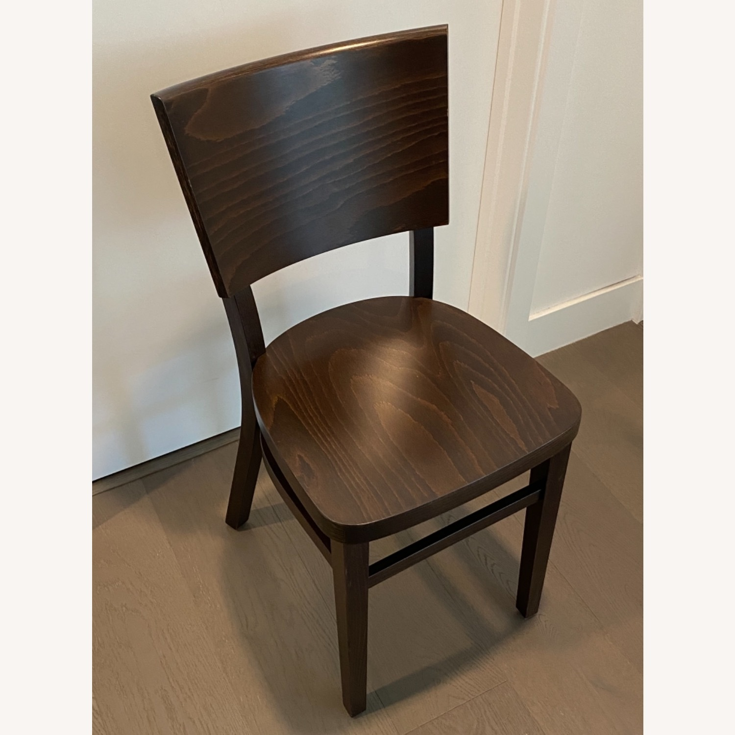 Design Within Reach Kyoto Dining Chairs in Coffee - image-2