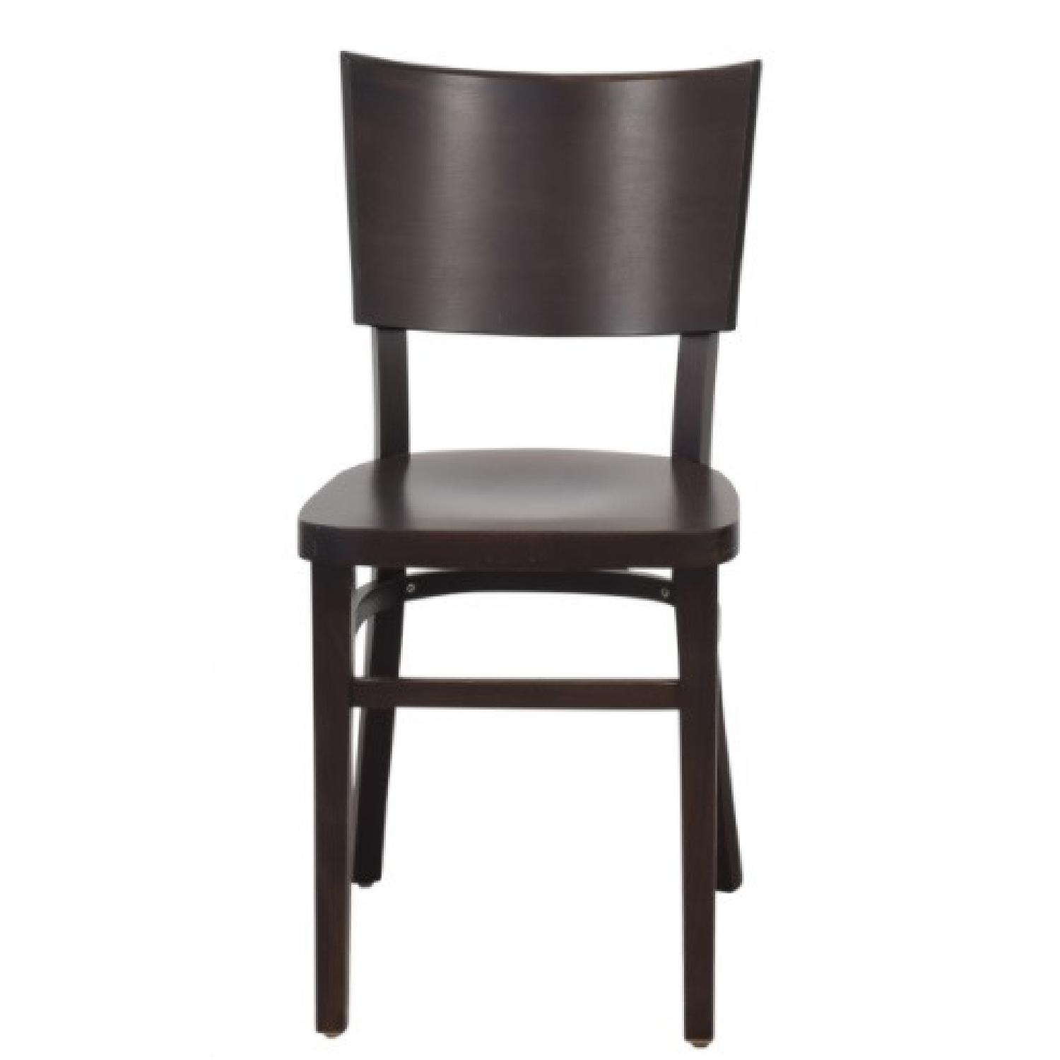 Design Within Reach Kyoto Dining Chairs in Coffee - image-5