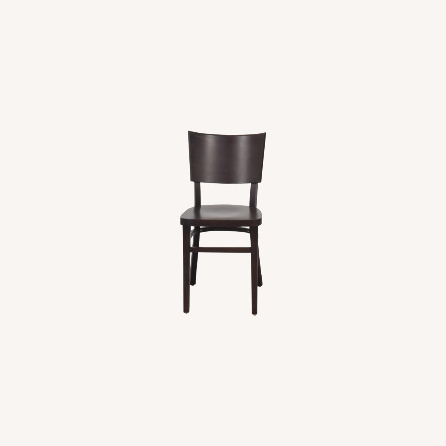 Design Within Reach Kyoto Dining Chairs in Coffee - image-0