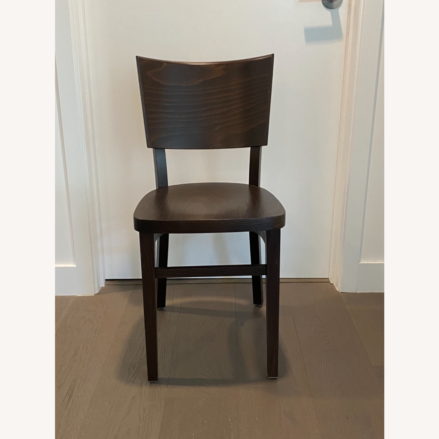 Design Within Reach Kyoto Dining Chairs in Coffee - image-1