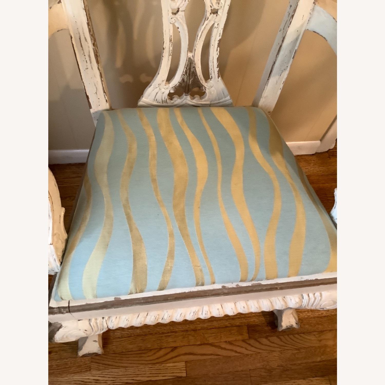 2 Shabby Chic Chairs - image-3