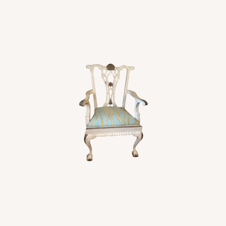 2 Shabby Chic Chairs - image-0