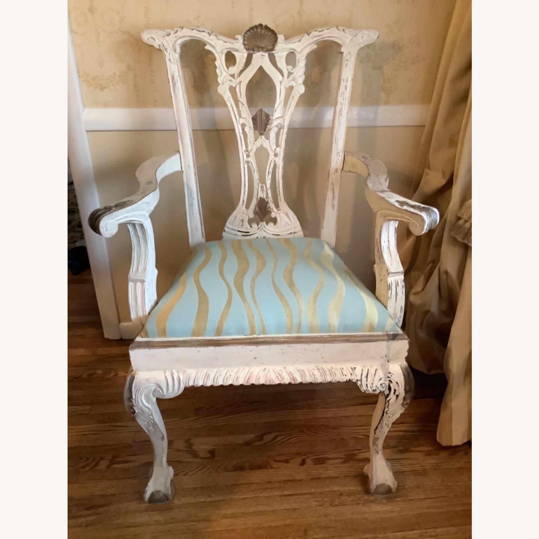 2 Shabby Chic Chairs - image-2