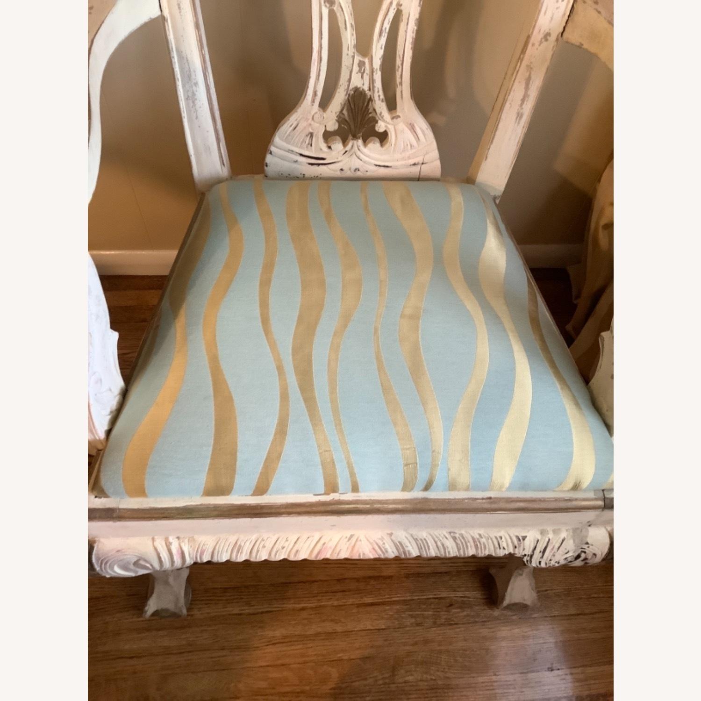 2 Shabby Chic Chairs - image-4