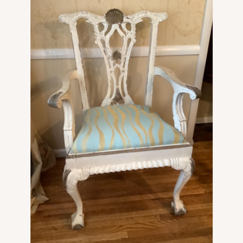 2 Shabby Chic Chairs - image-1