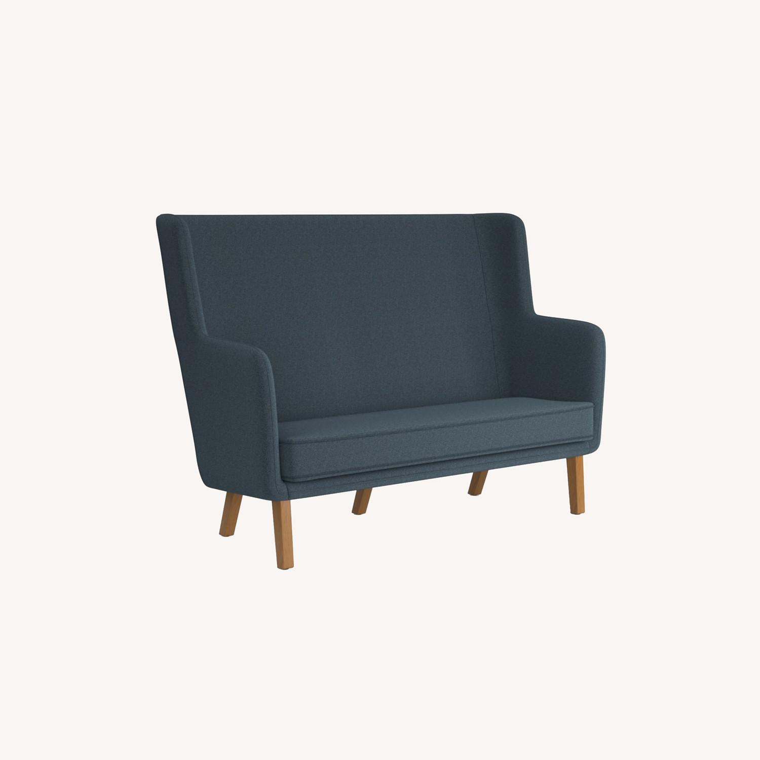 Knoll Rockwell Unscripted High Back Settee - image-0