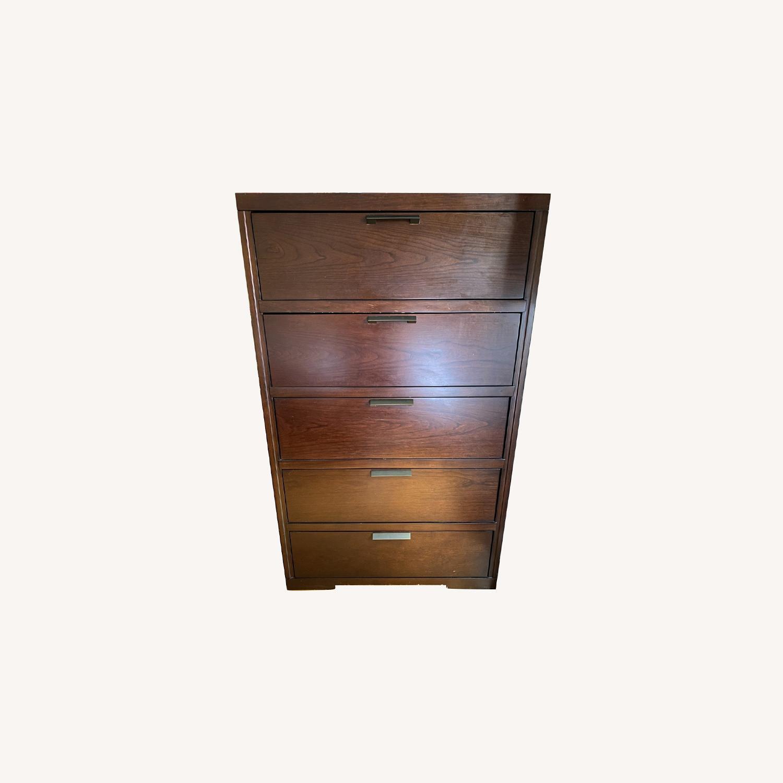 West Elm 5 Drawer Dresser- Chocolate - image-0
