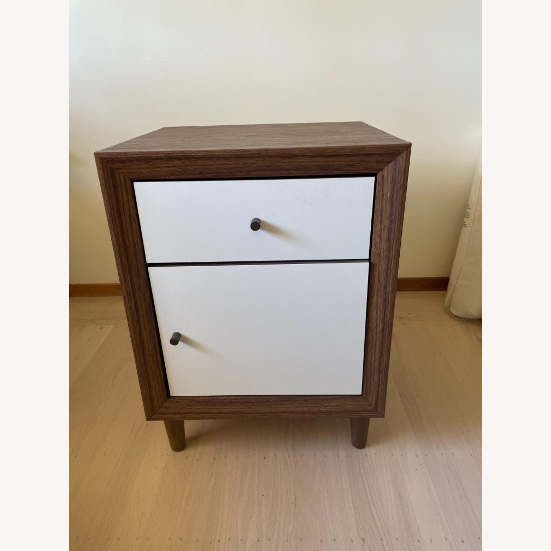 Walnut Side Table - image-1