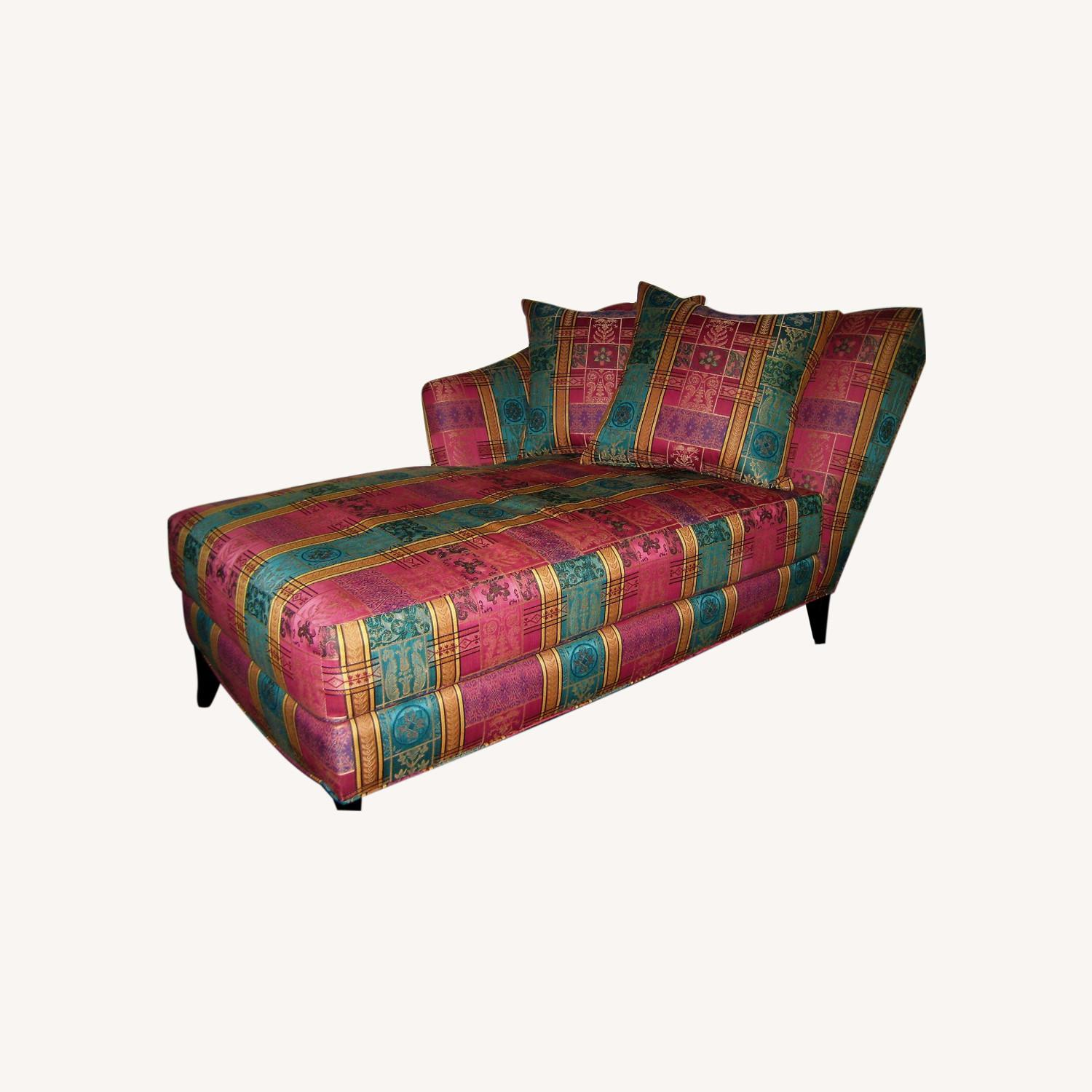 Chaise Lounge Fill with Feather - image-0