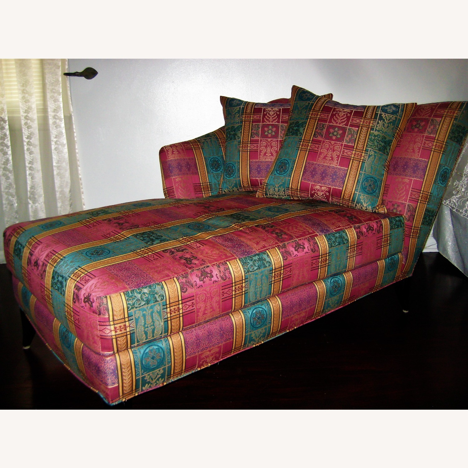 Chaise Lounge Fill with Feather - image-1