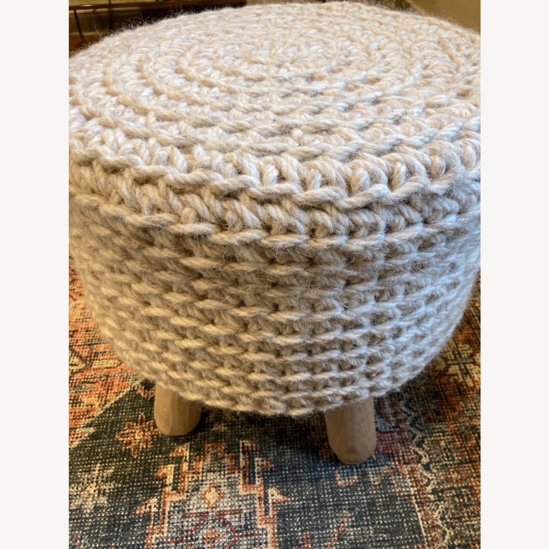 Lulu & Georgia Wool Ottoman - image-3