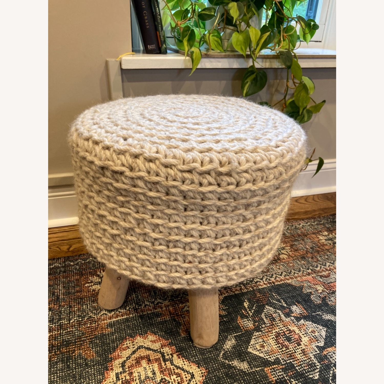 Lulu & Georgia Wool Ottoman - image-2