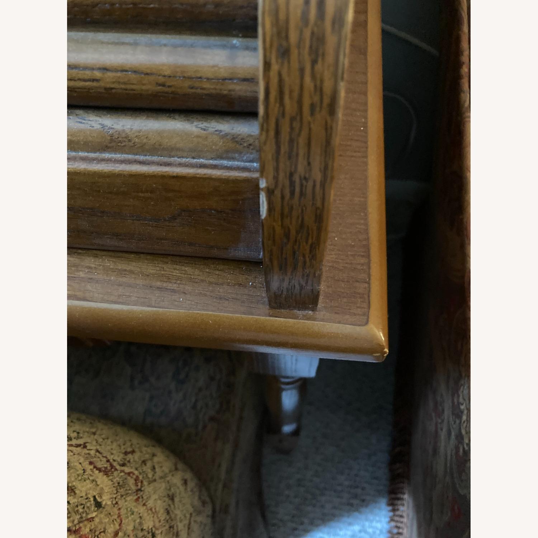 Coaster Small Roll-Top Oak Desk - image-8