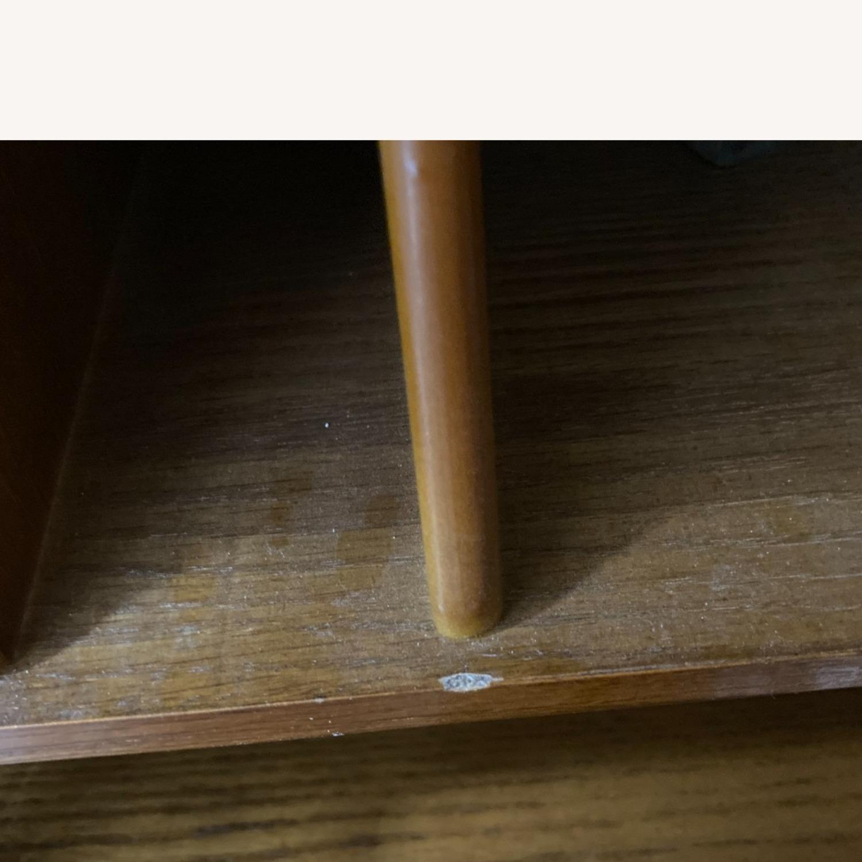 Coaster Small Roll-Top Oak Desk - image-10