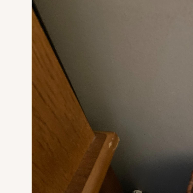 Coaster Small Roll-Top Oak Desk - image-9