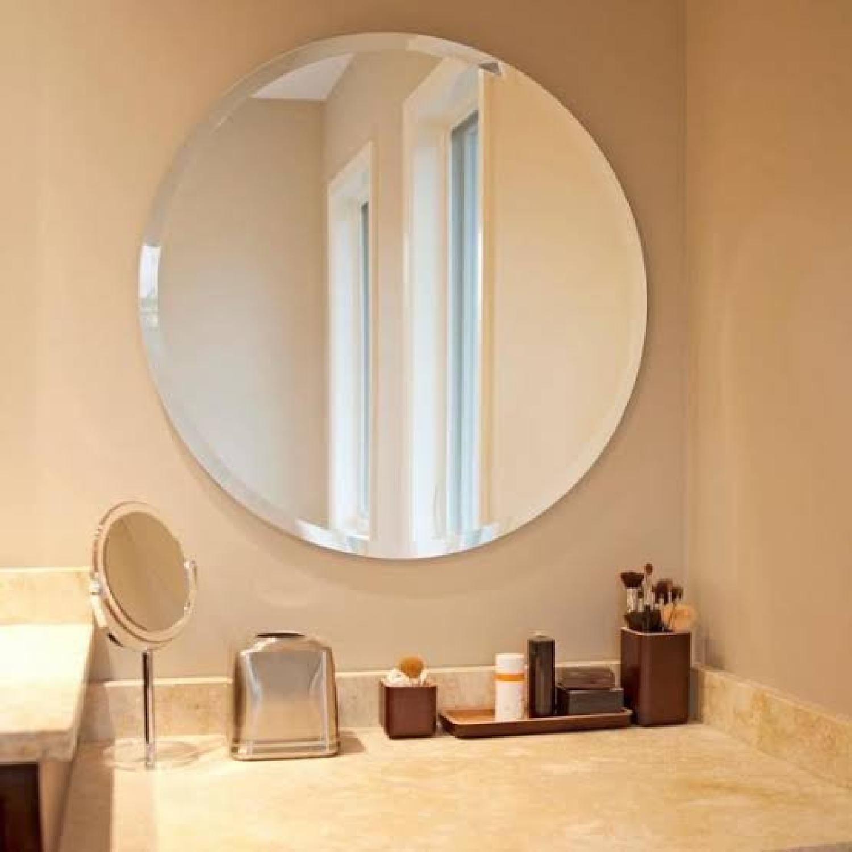Home depot Frameless Round Mirror 29.5 - image-8