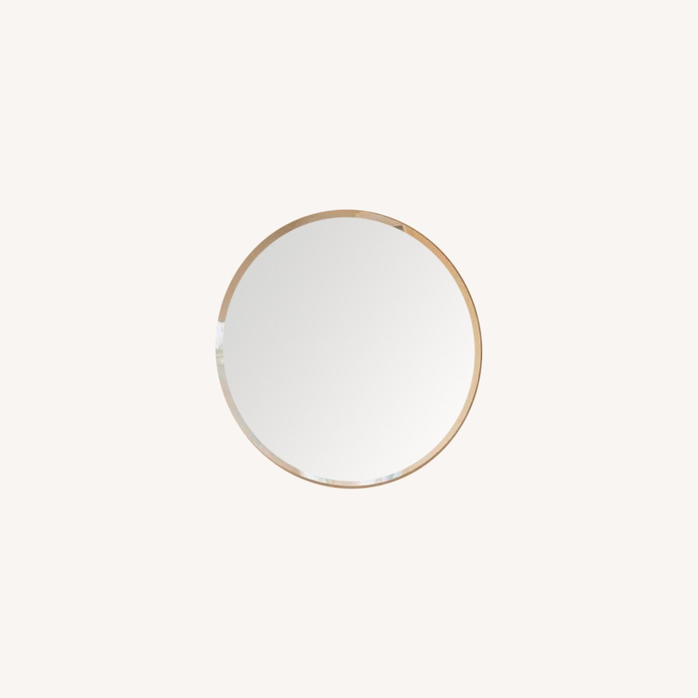 Home depot Frameless Round Mirror 29.5 - image-0