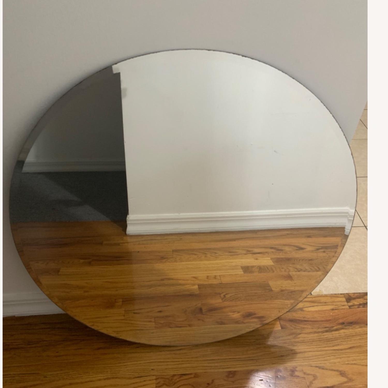 Home depot Frameless Round Mirror 29.5 - image-2