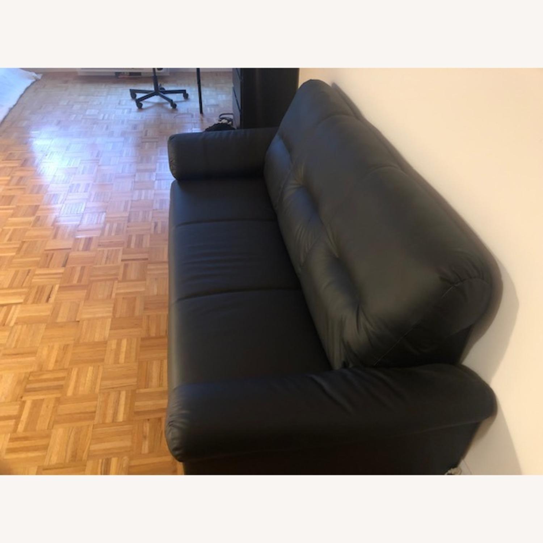 IKEA Black Sofa - image-4