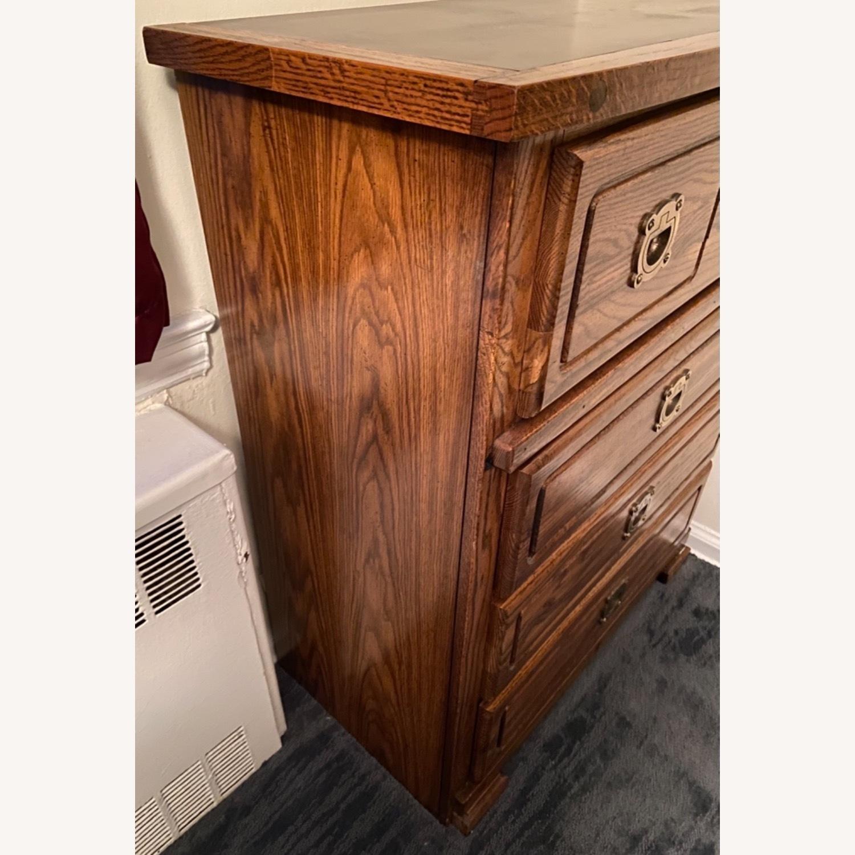 Vintage 1960s or 1970s 4 Drawer Dresser - image-3