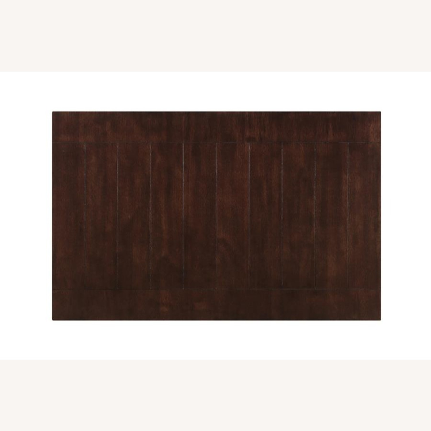 Dining Table In Cappuccino W/ Plank Style Tabletop - image-2