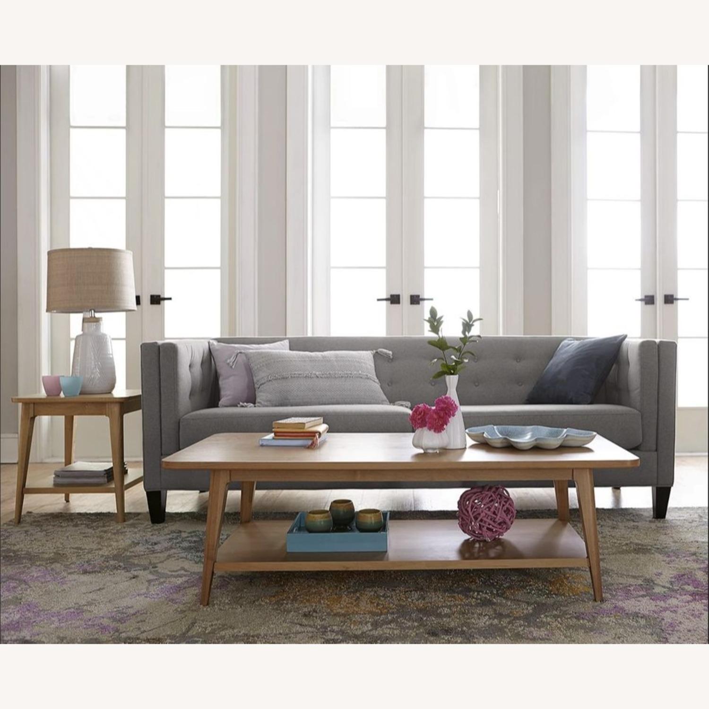 Macys Braylei 88 Grey Fabric Sofa - image-4