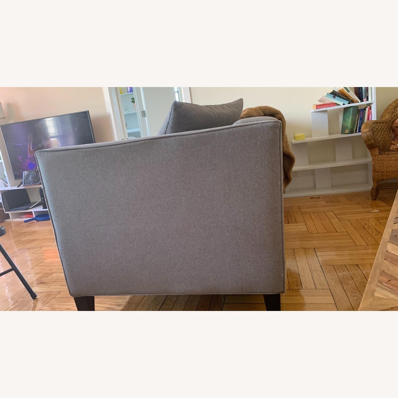 Macys Braylei 88 Grey Fabric Sofa - image-3