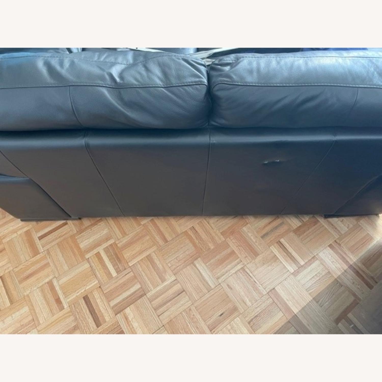 Leather 2 seat Sofa - image-4