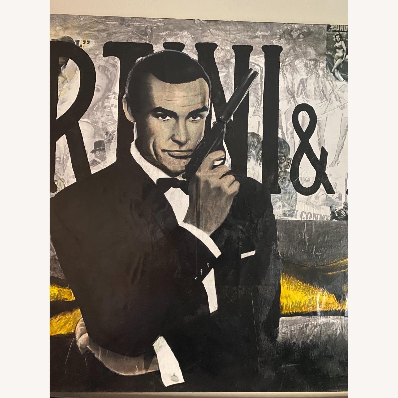 One-of-a-kind mix Media art of James Bond - image-4