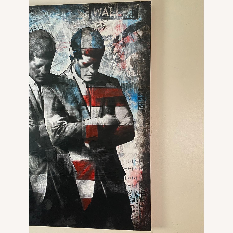Commissioned mix media art of John F Kennedy - image-1