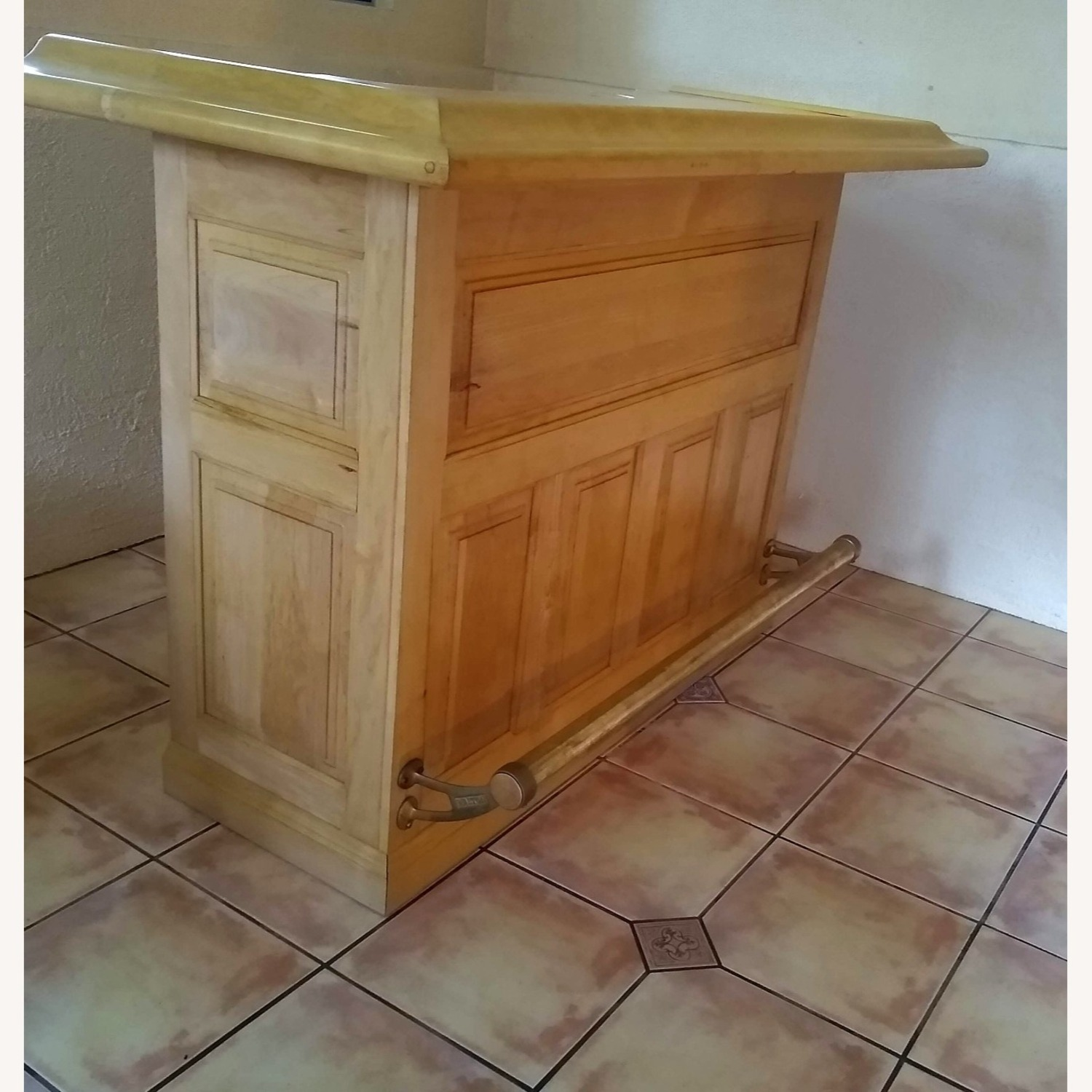 Solid Maple Home Bar - image-3