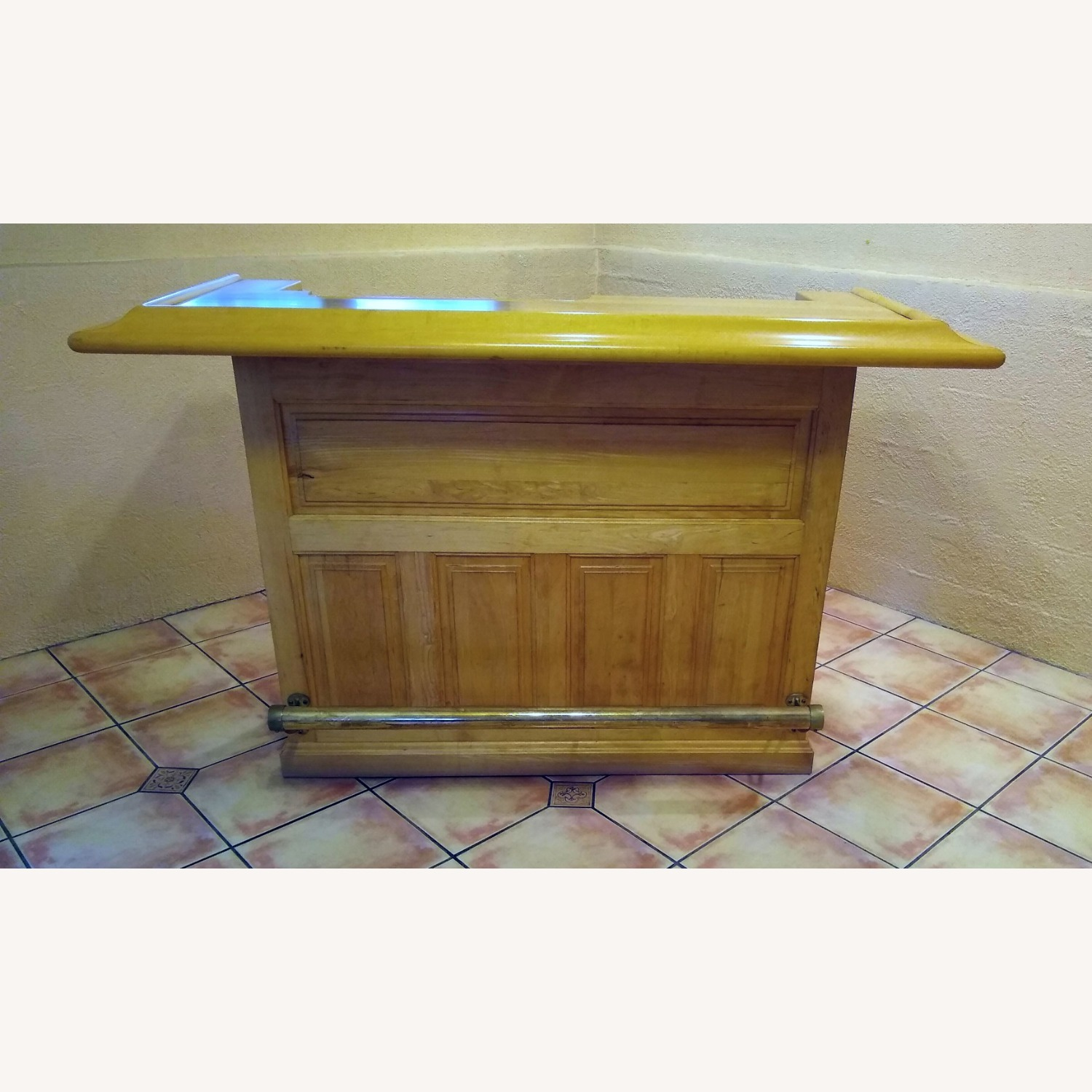Solid Maple Home Bar - image-2