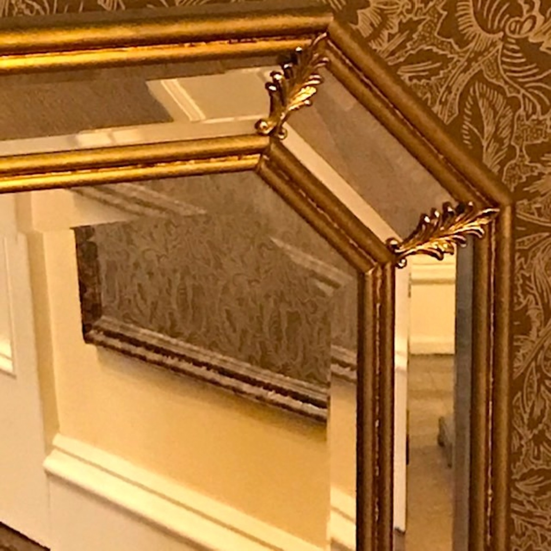 Vintage Pair Italian Beveled Mirrors - image-3