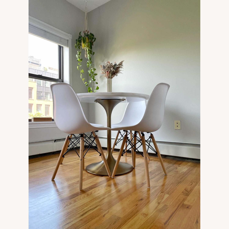 Wayfair White Wayfair Dining Chairs - image-4