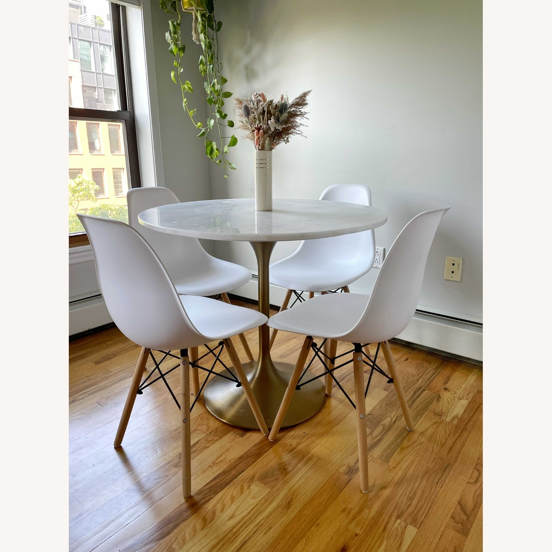 Wayfair White Wayfair Dining Chairs - image-1
