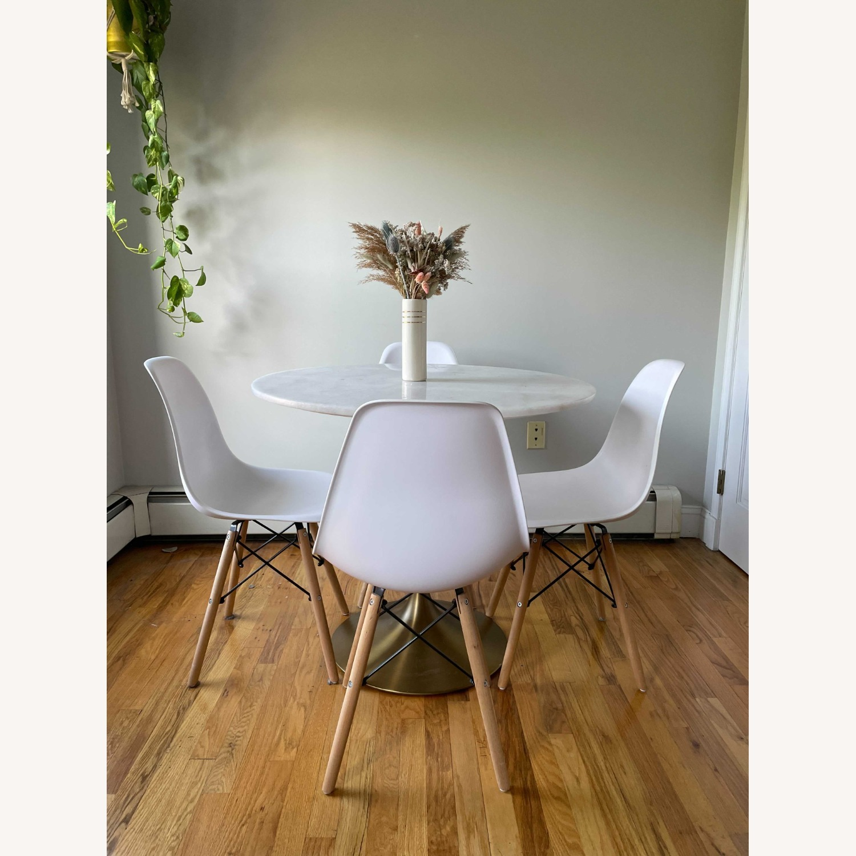 Wayfair White Wayfair Dining Chairs - image-5