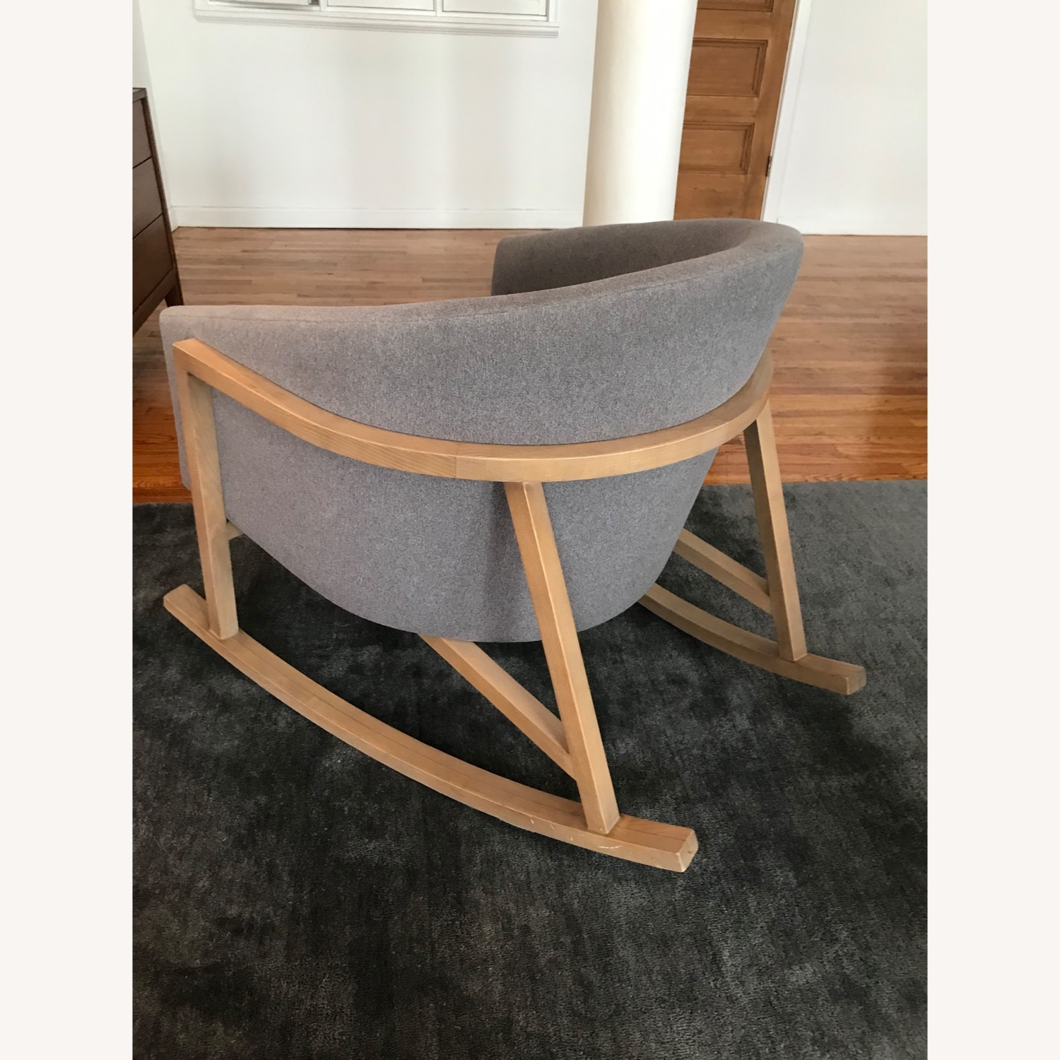 Crate & Barrel Accent Rocking Chair - image-3
