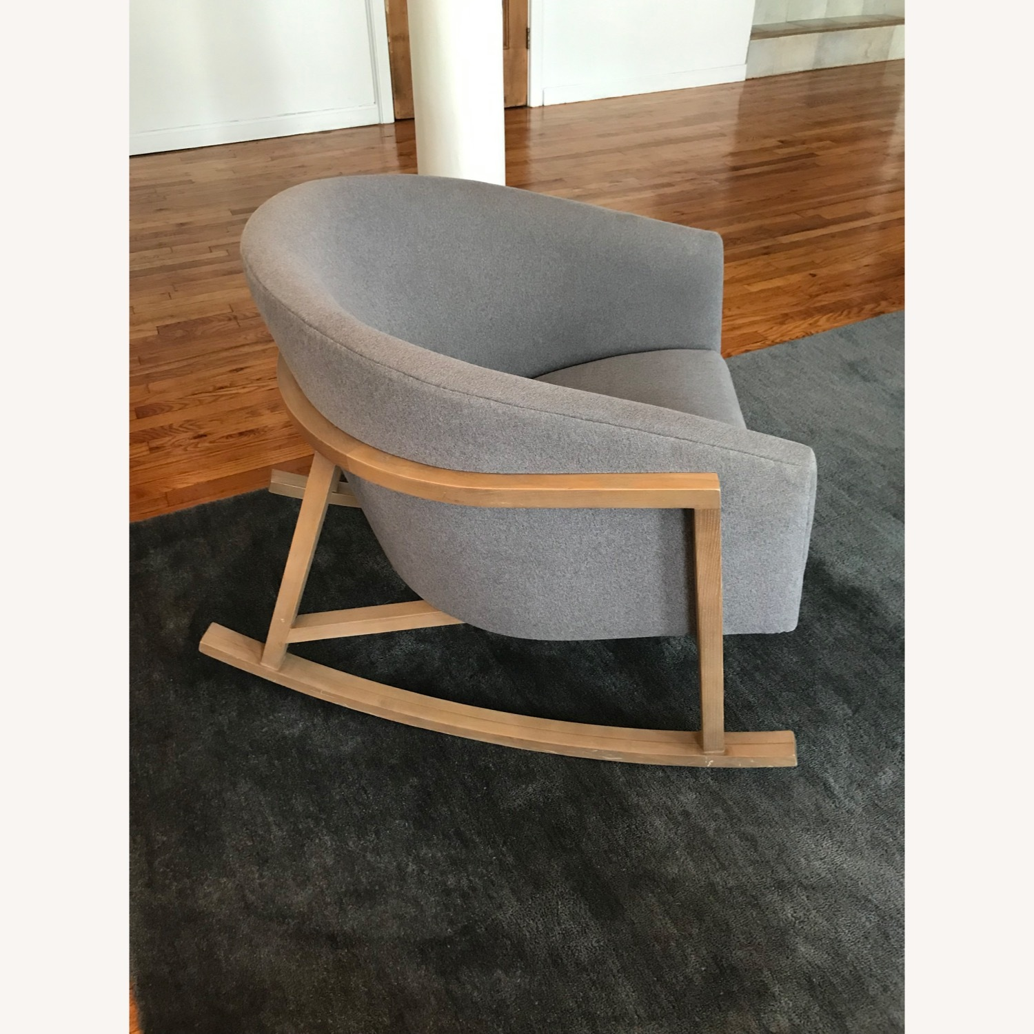Crate & Barrel Accent Rocking Chair - image-1