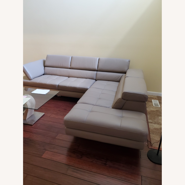 Italian Leather Sectional - image-3