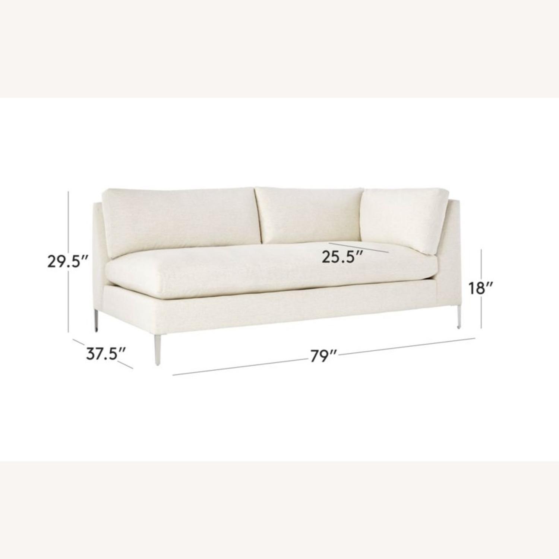 CB2 Right Arm Decker Sofa - image-6