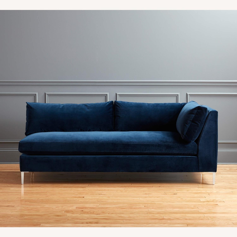 CB2 Right Arm Decker Sofa - image-4