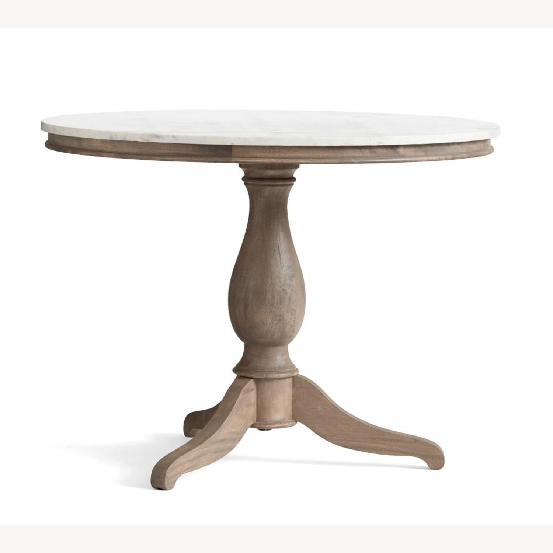 Pottery Barn Alexandra Pedestal Dining Table - image-2