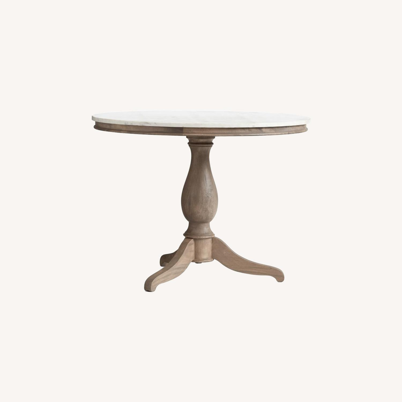 Pottery Barn Alexandra Pedestal Dining Table - image-0