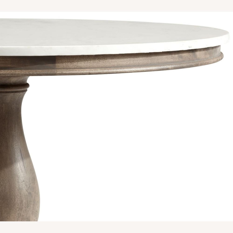 Pottery Barn Alexandra Pedestal Dining Table - image-3