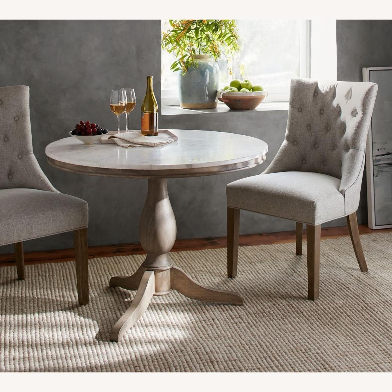 Pottery Barn Alexandra Pedestal Dining Table - image-1