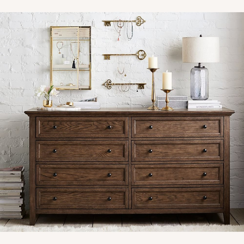 Pottery Barn Hudson 8-Drawer Wide Dresser - image-1