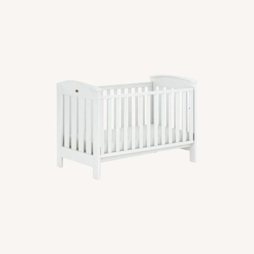 Used Boori Solid Wood Convertible Toddler Crib Cot Bed for sale on AptDeco