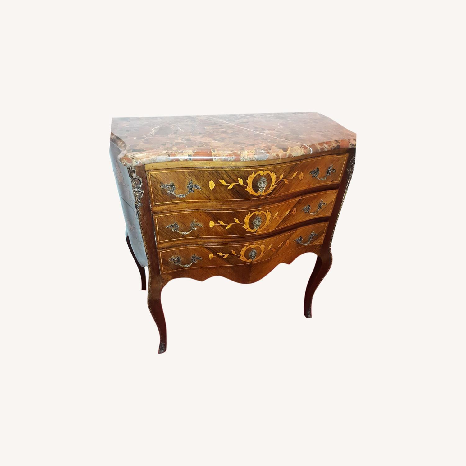 French Provincial Louis XV Commode - image-6