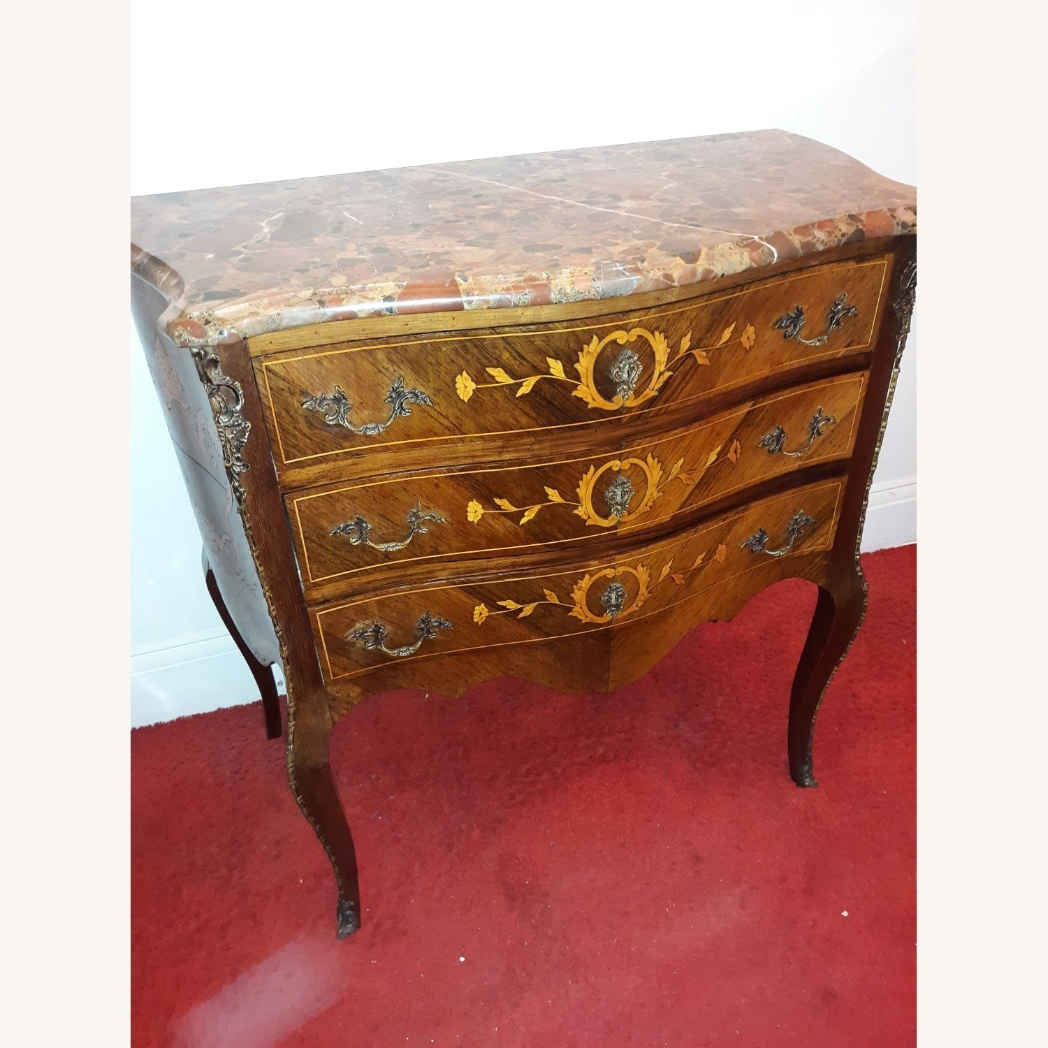 French Provincial Louis XV Commode - image-1